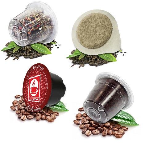 PROBIERSETS Kaffee/Tee-Kapseln