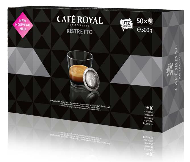 nespresso pro ristretto 50 kompatible kaffeekapseln von caf royal schweiz kapselprofi. Black Bedroom Furniture Sets. Home Design Ideas