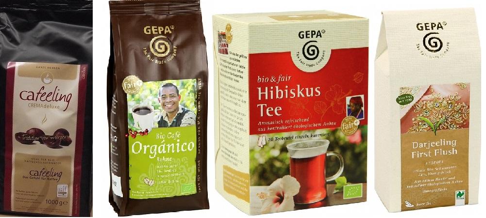 Shop-Kategorie - Kaffee & Tee