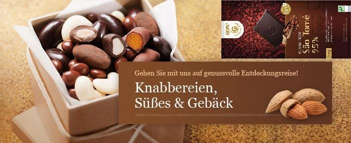 Shop-Kategorie - Schokolade & Snacks