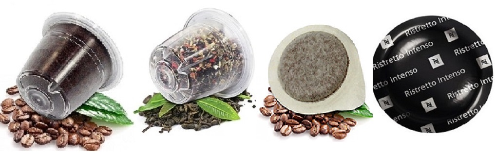 Shop-Kategorie - Kaffee & Tee Kapseln / Pads